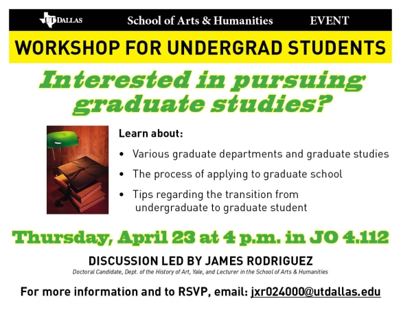 Rodriguez Workshop Flier