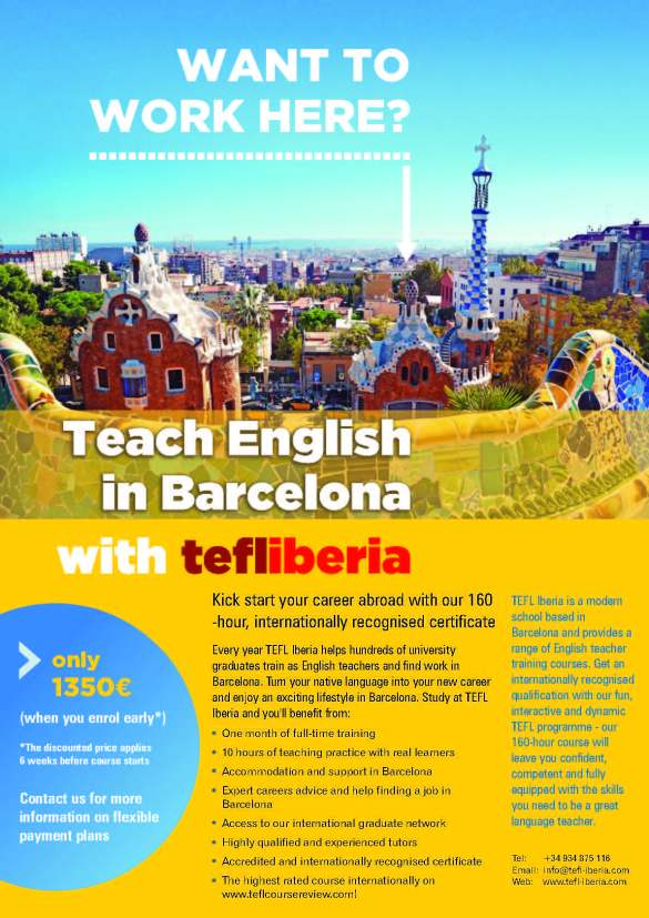 TEFL Iberia poster18